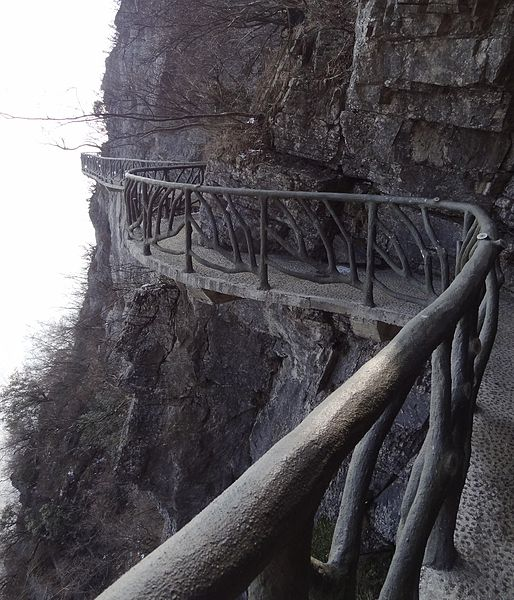 514px-Tianmen_Mountain_cliff_footpath