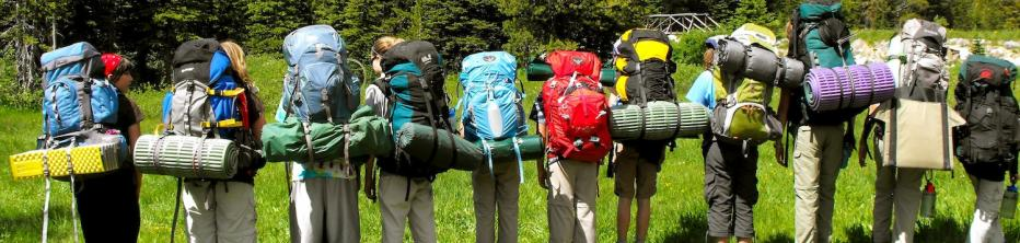 Alpengirl Camp Packing List Backpacks