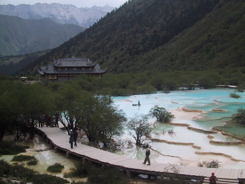 Huanglonggou_Pools