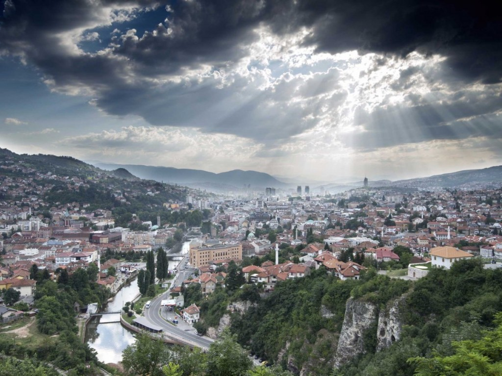 sarajevo-bosniasarajevo-sits-on-the-miljacka-river-and-is-