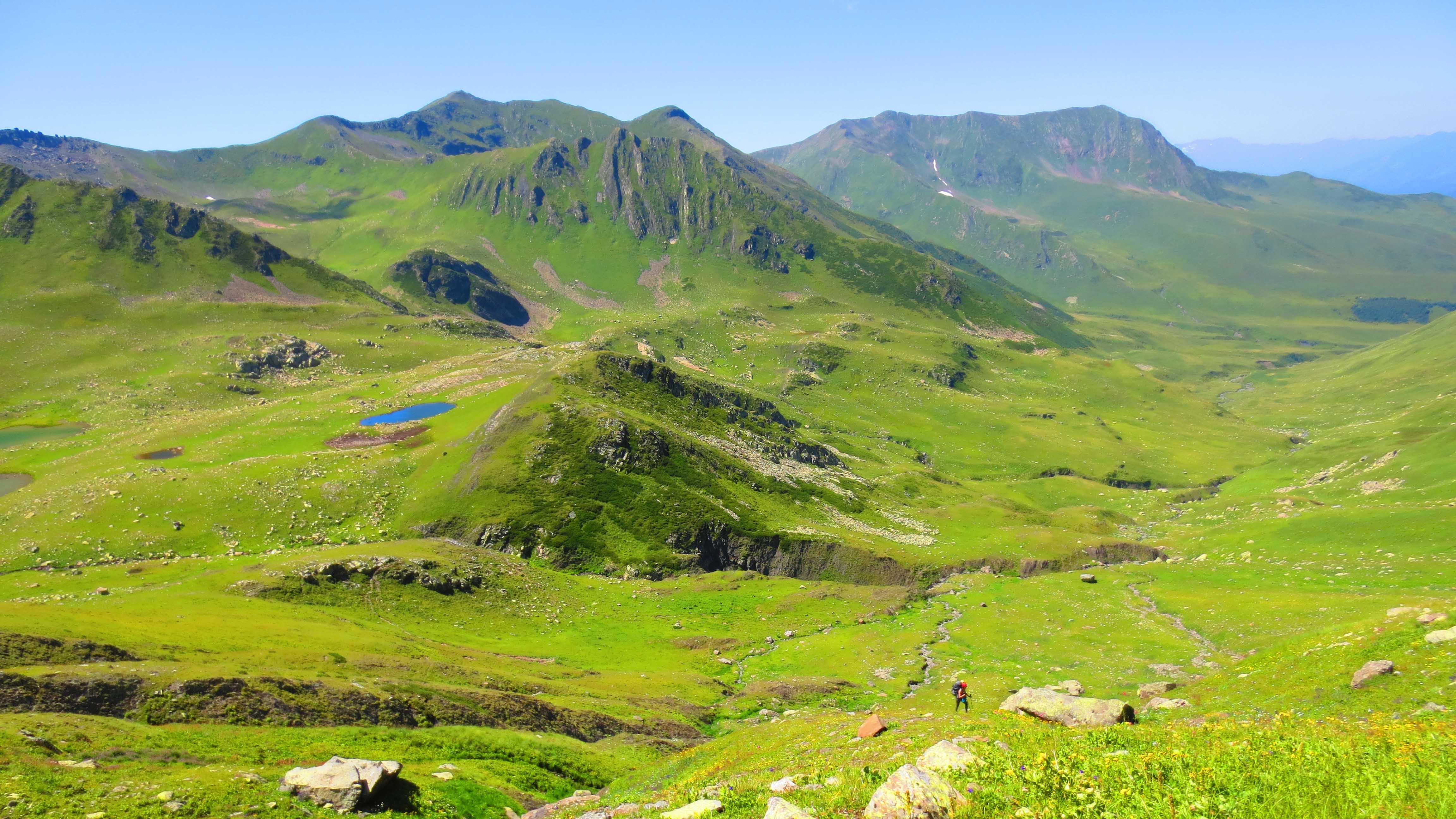 Hiking in the region of Racha