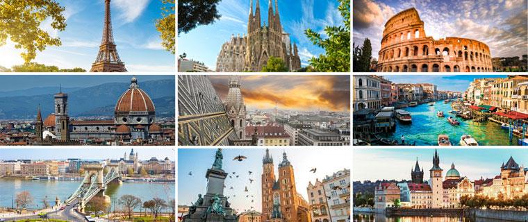 ევროპის 10 ქალაქი, რომელიც აუცილებლად უნდა ნახოთ